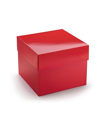 Box rouge brillante