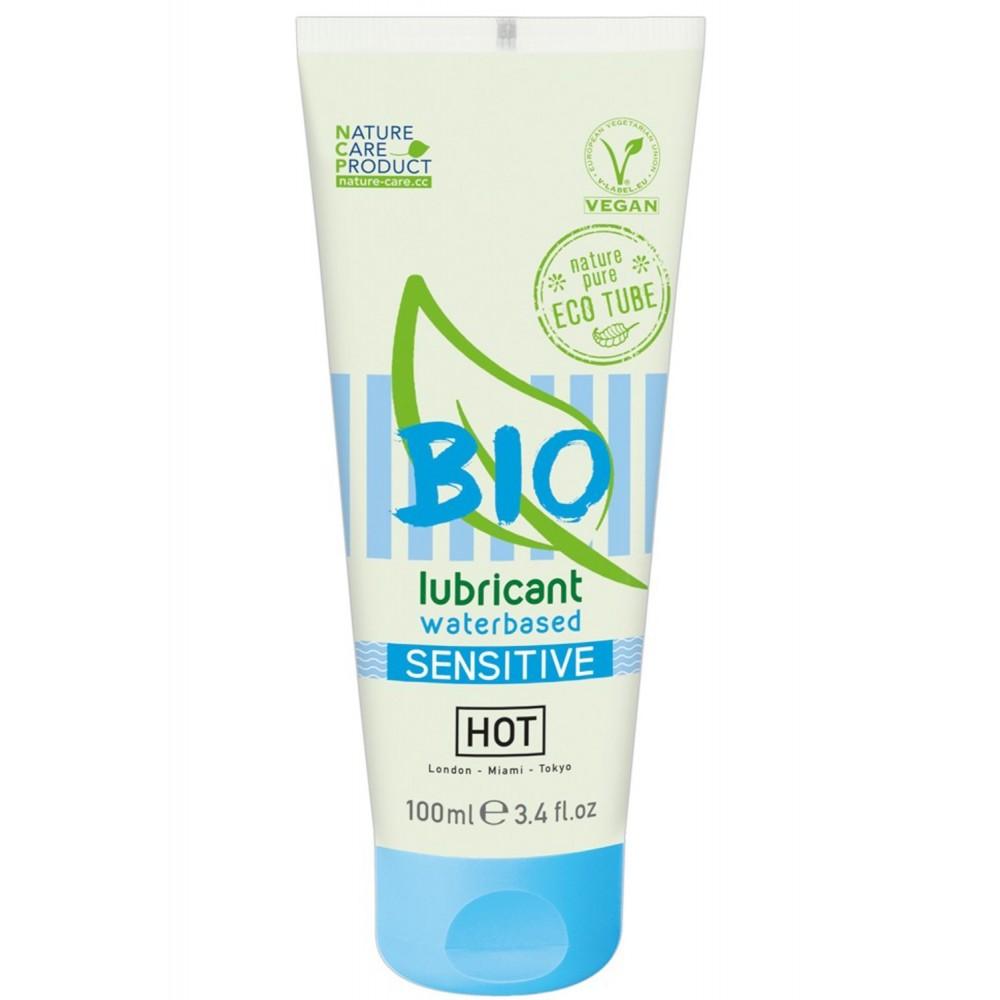 Lubrifiant végétalien Bio à base d'eau Sensitive 100ml