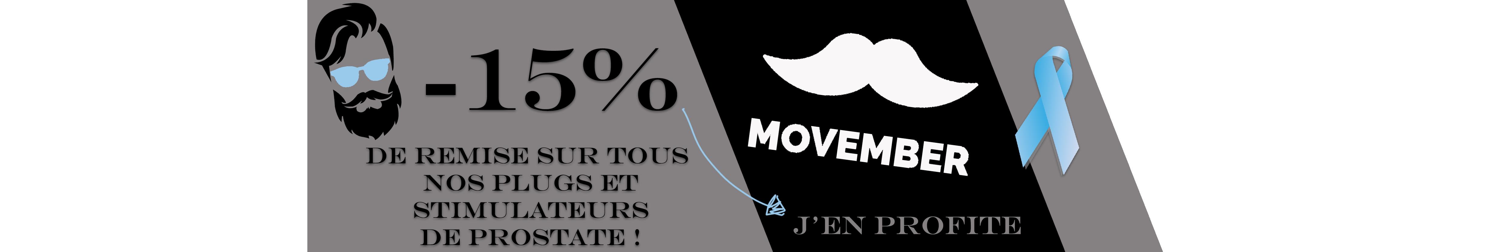 Promotion spéciale Movember